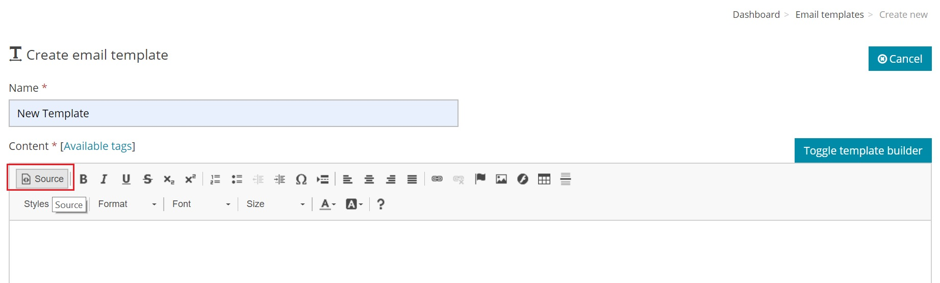 Email Template with HTML source code - Source Code