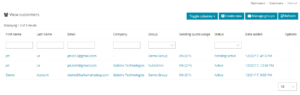 Customers Overview