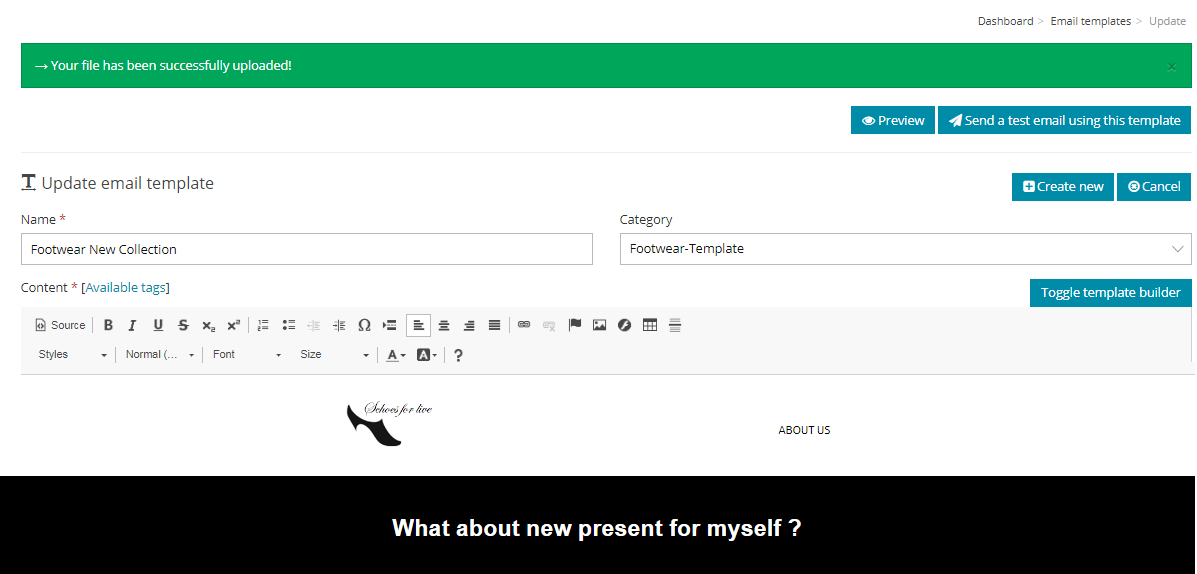Email Templates- Example1
