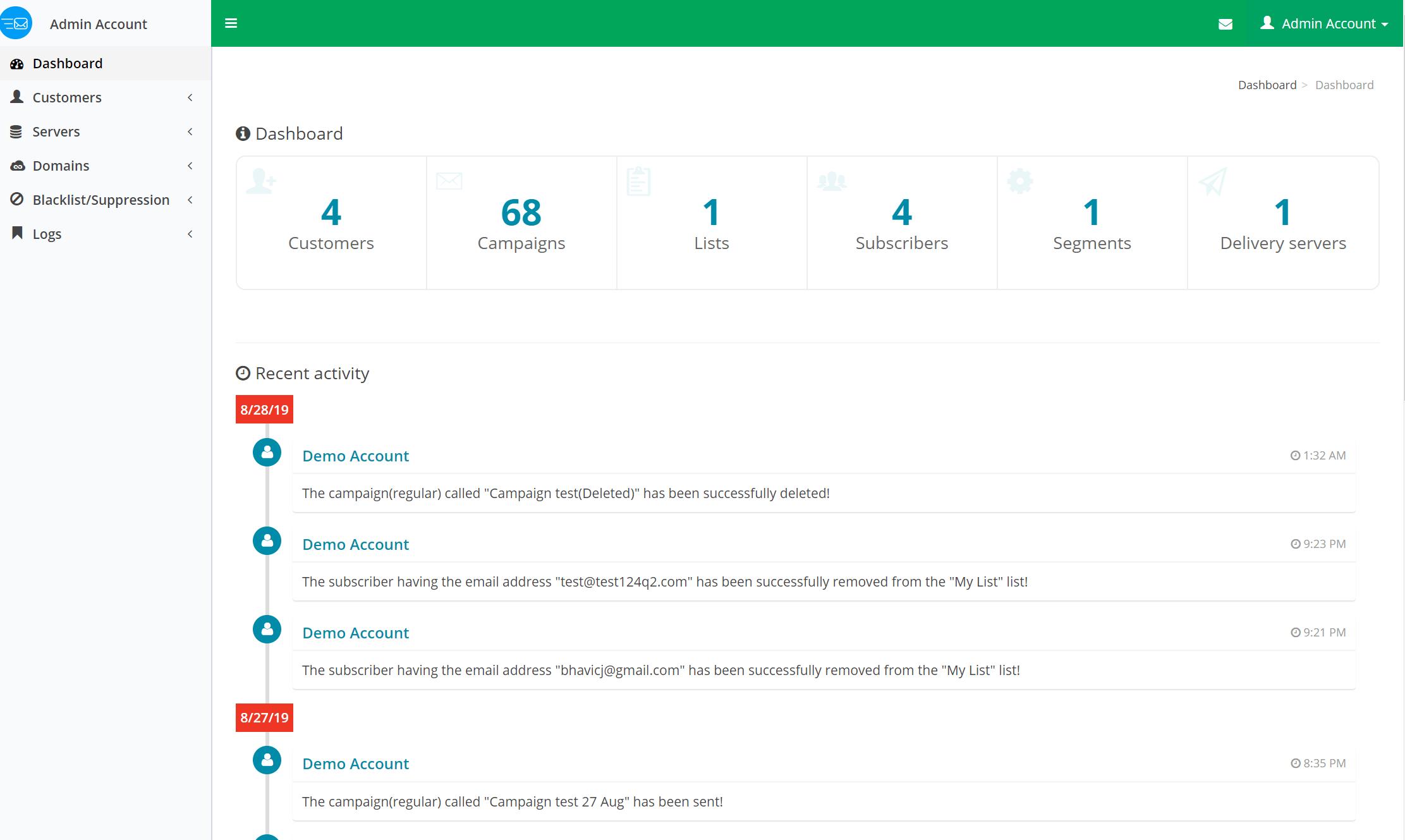 Admin-Panel-BulkEmailSetup